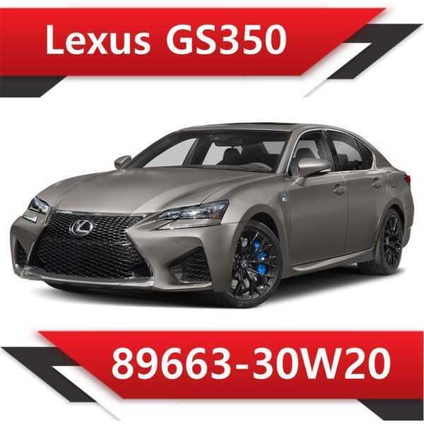 89663 30W20 600x600 - Lexus GS350 89663-30W20 Tun Stage1 E2 SAP EVAP SL250