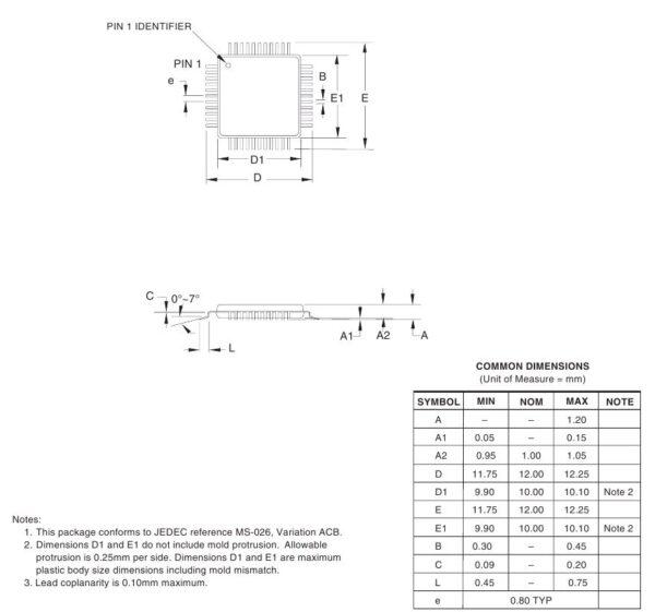 Atmeg 1 600x561 - Щуп для Atmega 162