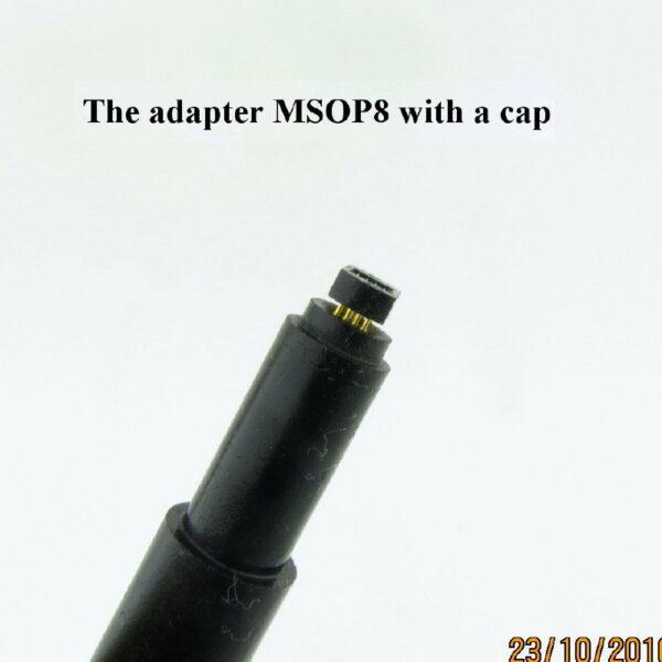 Msop8 Cap 2 600x600 - Щуп MSOP8_P035-B с капой с подсветкой и прозрачной капой