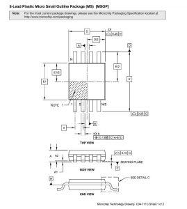Size MSSOP8 p1 269x300 - Щуп MSOP-8_035 Вариант с автономной подсветкой