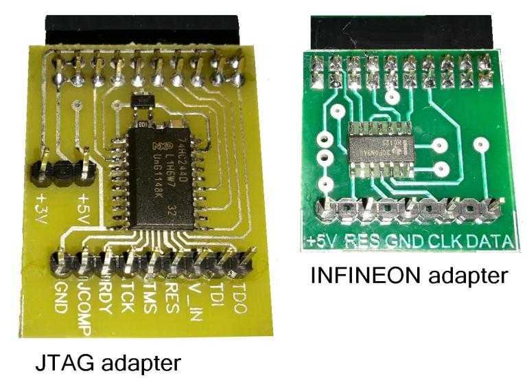 adapters - MAC7241  MAC7242  MPC5554  MPC5566  MPC5604-7  SPC560P50  SPC560P44