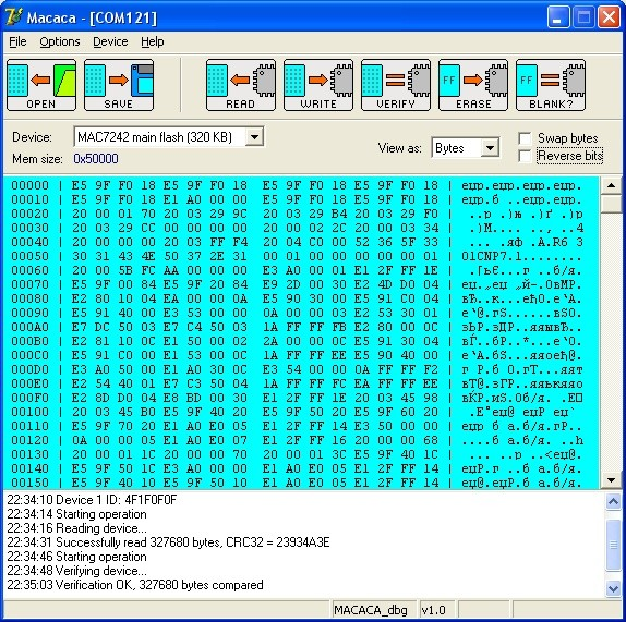 macaca - MAC7241  MAC7242  MPC5554  MPC5566  MPC5604-7  SPC560P50  SPC560P44
