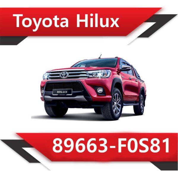 F0S81 600x600 - Toyota HILUX 2.8 TD Denso 89663-F0S81 EGR OFF