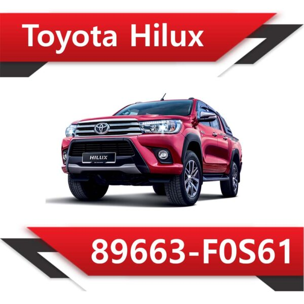 f0s61 600x600 - Toyota HILUX 2.8 TD Denso 89663-F0S61 TUN STAGE2