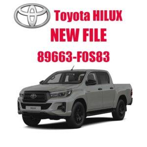 89663 f0s83 300x300 - Toyota Hilux 89663-F0S83 DPF off