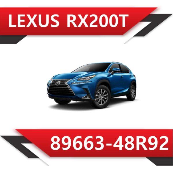 89663 48R92 600x600 - Lexus RX200 T 89663-48R92 Stock