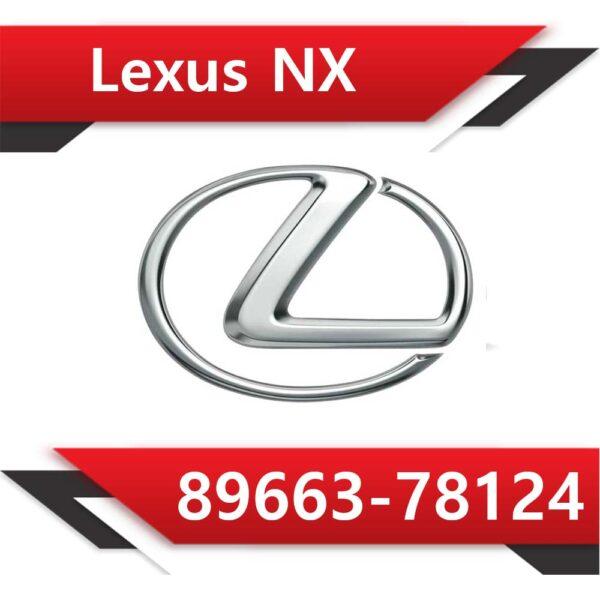 78124 600x600 - Lexus NX 200t 89663-78124 Stock