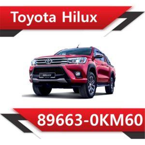 0KM60 300x300 - Toyota Hilux 89663-0KM60 EGR DPF off