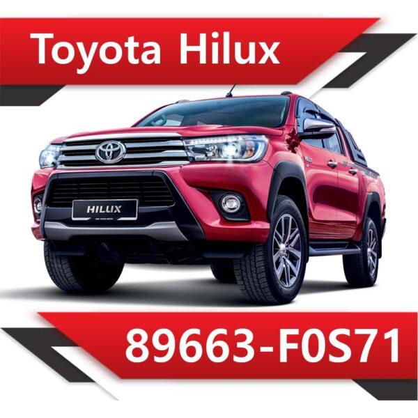 f0s71 600x600 - Toyota Hilux 89663-F0S71 TUN STAGE2
