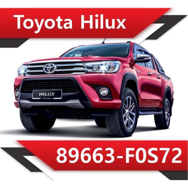f0s72 600x600 - Toyota Hilux 89663-F0S72 EGR DPF off