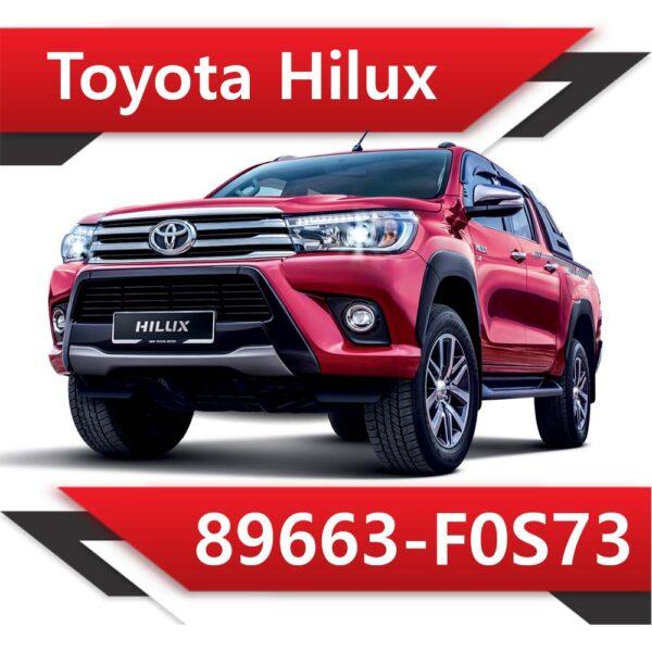 f0s73 600x600 - Toyota Hilux 89663-F0S73 EGR DPF off