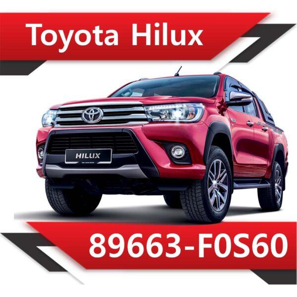 f0s60 600x600 - Toyota HILUX 2.8 TD 89663-F0S60 STOCK