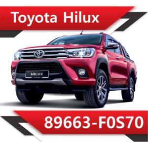 f0s70 300x300 - Toyota Hilux 89663-F0S70 EGR DPF off
