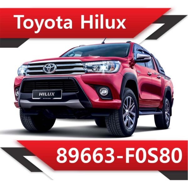 f0s80 600x600 - Toyota Hilux 89663-F0S80 TUN STAGE1