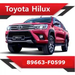 89663 F0599 e1591170509178 300x300 - Toyota Hilux 89663-F0599 Stock
