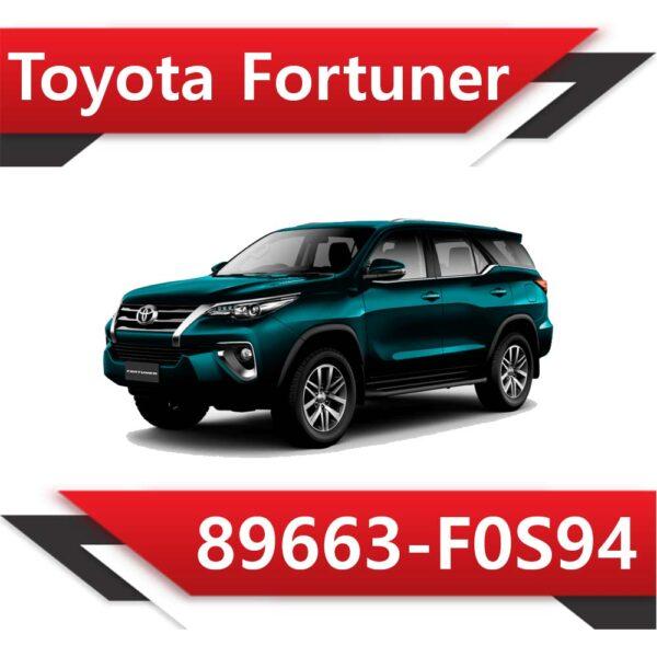 f0s94 600x600 - Toyota FORTUNER 89663-F0S94 DPF off