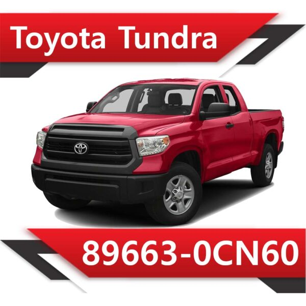 0CN60 600x600 - Toyota Tundra 89663-0CN60 STOCK