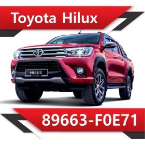 f0e71 300x300 - Toyota Hilux 2.4 89663-F0E71 TUN STAGE1 EGR DPF OFF