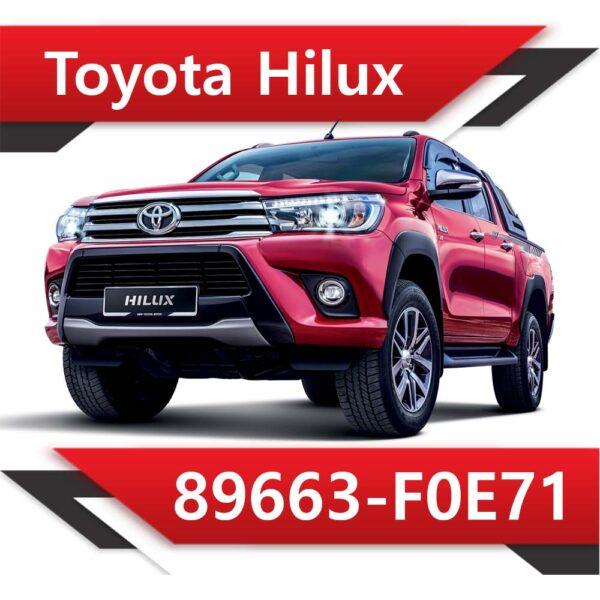 f0e71 600x600 - Toyota Hilux 2.4 89663-F0E71 TUN STAGE2