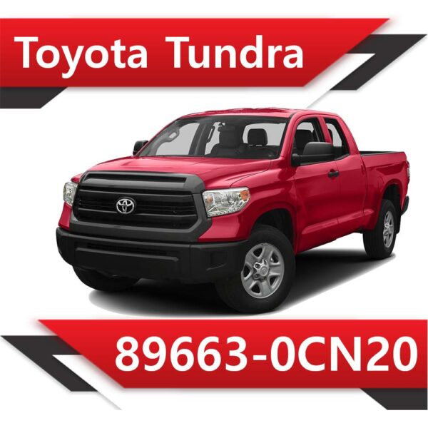 0cn20 600x600 - Toyota Tundra 89663-0CN20 TUN
