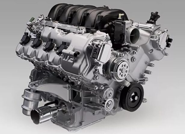 1UR FE 615x445 - 1UR-FE двигатель тойота, лексус, технические характеристики, основные неисправности