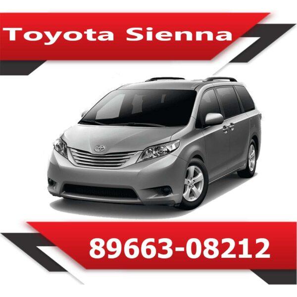 89663 08212 600x600 - Toyota Sienna 89663-08212 TUN Stage1