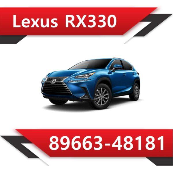 89663 48181 600x600 - Lexus RX330 89663-48181 STOCK
