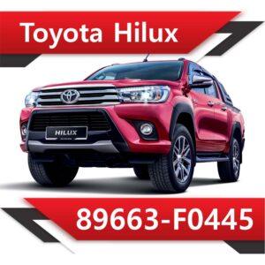 89663 F0445 300x300 - Toyota Hilux 2.4 89663-F0445 TUN STAGE2 EGR DPF OFF