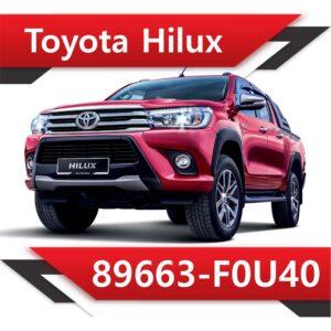 89663 F0U40 300x300 - Toyota Hilux 89663-F0U40 Stock