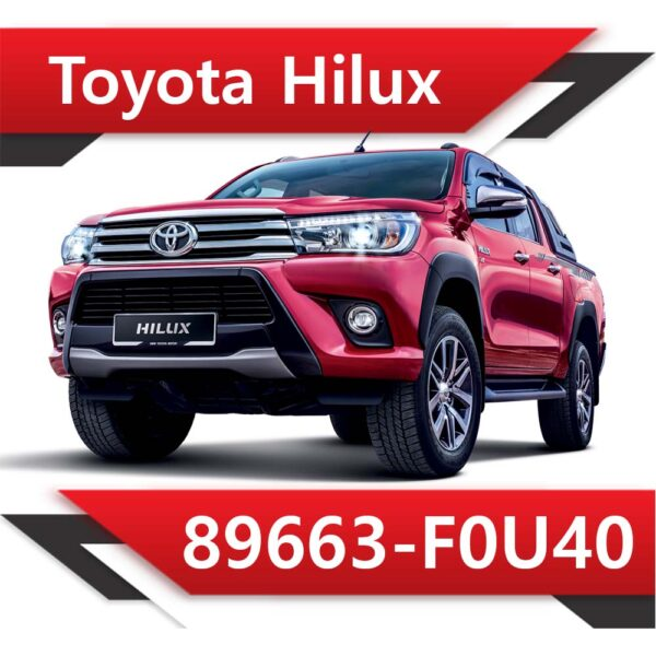 89663 F0U40 600x600 - Toyota Hilux 89663-F0U40 Stock