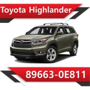 89663 0E811 300x300 - Toyota Highlander 89663-0E811 E2