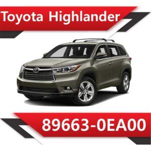 89663 0EA00 300x300 - Toyota Highlander 89663-0EA00 E2