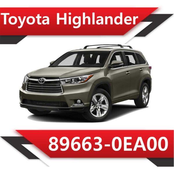 89663 0EA00 600x600 - Toyota Highlander 89663-0EA00 Tun Stage1
