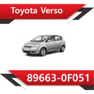 89663 0F051 300x300 - Toyota Corolla Verso 89663-0F051 E2