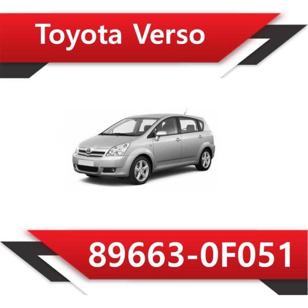 89663 0F051 600x600 - Toyota Corolla Verso 89663-0F051 TUN Stage1 E2