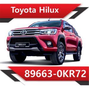 89663 0KR72 300x300 - Toyota HILUX 2.5 TD 89663-0KR72 TUN STAGE2
