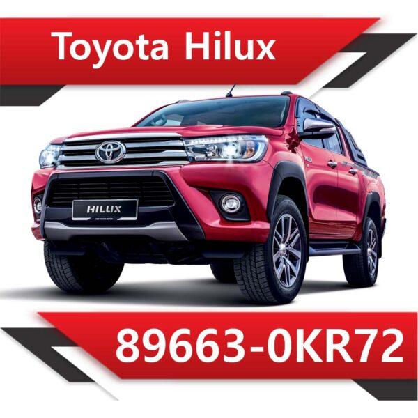 89663 0KR72 600x600 - Toyota HILUX 2.5 TD 89663-0KR72 TUN STAGE1