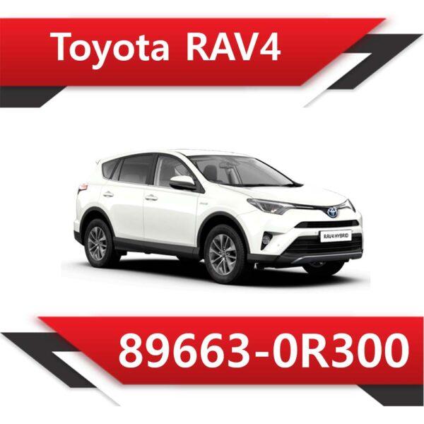 89663 0R300 1 600x600 - Toyota Rav4 89663-0R300 TUN E2