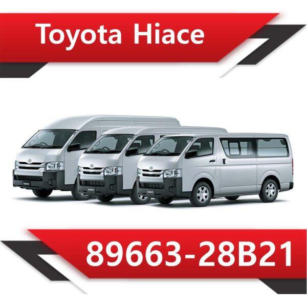 89663 26b21 600x600 - Toyota Hiace 89663-26B21 Tun Stage1 EGR DPF off