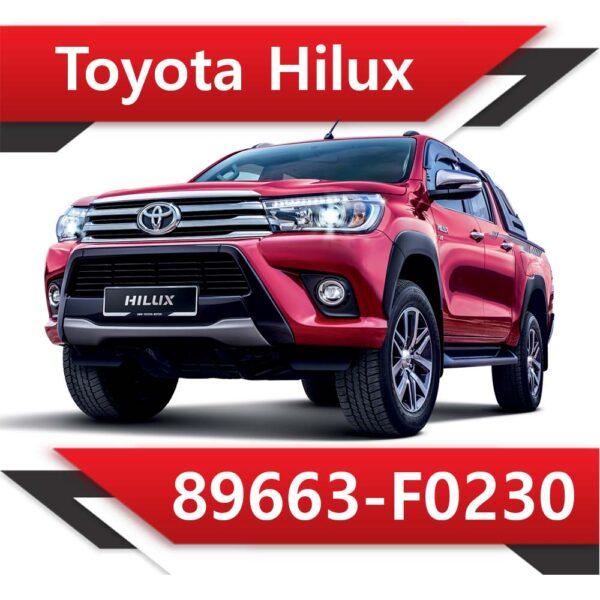 89663 F0230 1 600x600 - Toyota HILUX 2.8 TD 89663-F0230 TUN STAGE2 EGR OFF