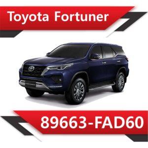 89663 FAD60 300x300 - Toyota Fortuner 2.8 89663-FAD60 EGR DPF off