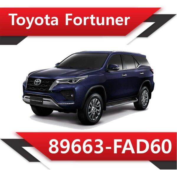 89663 FAD60 600x600 - Toyota Fortuner 2.8 89663-FAD60 EGR DPF off