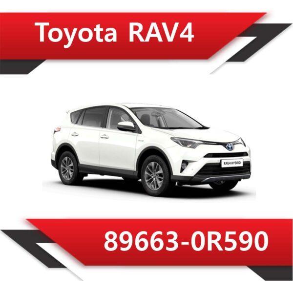 89663 0R590 600x600 - Toyota Rav4 89663-0R590 TUN E2