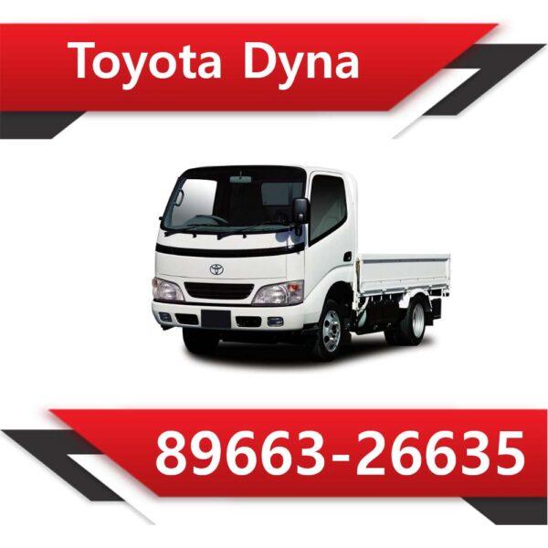 89663 26635 600x600 - Toyota Dyna 89663-26635 Tun Stage2