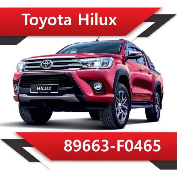 89663 F0465 600x600 - Toyota Hilux 89663-F0465 Tun Stage2