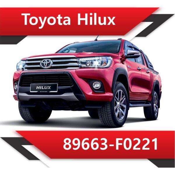 89663 F0221 600x600 - Toyota Hilux 2.8  89663-F0221 Tun Stage1 EGR off