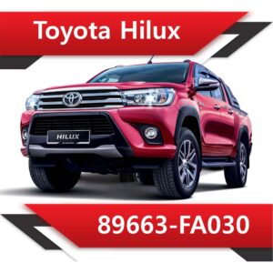 89663 FA030 300x300 - Toyota Hilux 89663-FA030 EGR DPF off