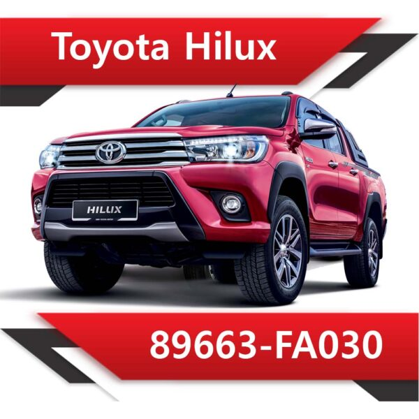 89663 FA030 600x600 - Toyota Hilux 89663-FA030 Tun Stage1