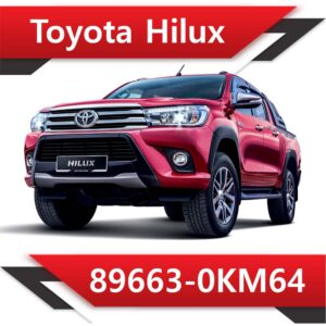 89663 0KM64 300x300 - Toyota Hilux 89663-0KM64 Tun STAGE1 EGR OFF