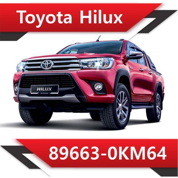 89663 0KM64 600x600 - Toyota Hilux 89663-0KM64 Tun Stage1